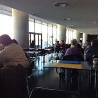 Photo taken at Cafe & Restaurant at Acropolis Museum by Dimitrios S. on 12/4/2012