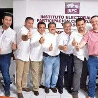 Photo taken at IEPC [Instituto Electoral y de Participación Ciudadana de Tabasco] by J. Alberto A. on 4/13/2015