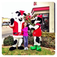 Photo taken at Chick-fil-A Twin Creeks Village by Ian on 12/8/2012