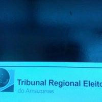 Photo taken at Tribunal Regional Eleitoral do Amazonas by Daniel E. on 10/5/2016
