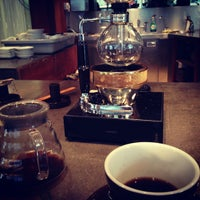 Photo taken at Small Batch Coffee Company by Marcel L. on 9/28/2012