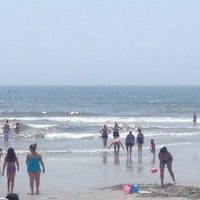Photo taken at 12th Street Beach by Larry D. on 7/21/2013