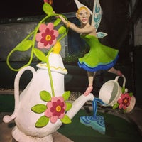 Photo taken at Peter Pan Mini Golf by Kevin T. on 6/1/2013