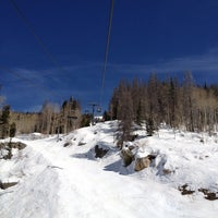 Photo taken at Pony Express Chairlift by Brian Y. on 3/13/2012