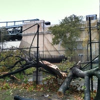 Photo taken at Frankenstorm Apocalypse - Hurricane Sandy by Brian M. on 10/31/2012