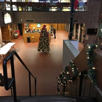 Photo taken at Hillwood Commons - LIU Post by Esraa A. on 11/30/2015