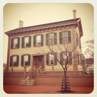 Photo taken at Lincoln Home National Historic Site by Stephenie H. on 12/9/2012