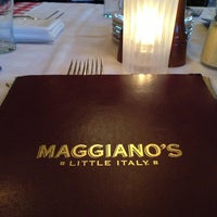 Photo taken at Maggiano's Little Italy by Nourah A. on 1/20/2013