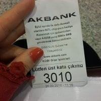 Photo taken at Akbank T.A.Ş Giresun Şubesi by Hale A. on 9/26/2016