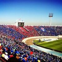 Photo taken at Estadio Nacional Julio Martínez Prádanos by Hernan G. on 5/6/2013