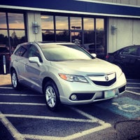 Photo taken at Karen Radley Acura by Doug T. on 1/19/2014
