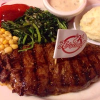 Photo taken at Steak Hotel by Holycow! TKP Radal by Christy B. on 5/20/2015