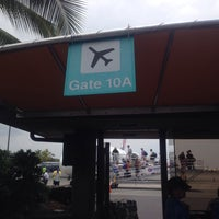 Photo taken at Gate 10 by meo on 4/10/2014