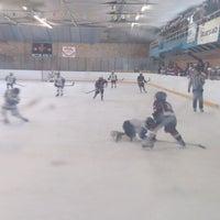 Photo taken at Talsu hokeja klubs (Talsi Ice Hockey club) by Baiba D. on 3/14/2015