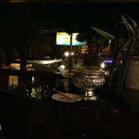 Photo taken at Smile Boat Beer Garden Pub & Restaurant by Rungrote S. on 3/13/2013