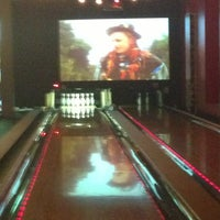 Photo taken at Bowlmor Times Square by Taylor M. on 1/11/2013