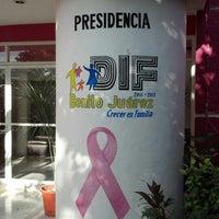 Photo taken at DIF Benito Juarez by Fausto Alejandro S. on 11/7/2012