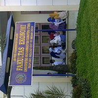 Photo taken at Universitas Muhammadiyah Sumatera Utara (UMSU) by Teguh Iman G. on 9/20/2012