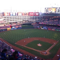 Photo taken at Globe Life Park in Arlington by John L. on 6/19/2013