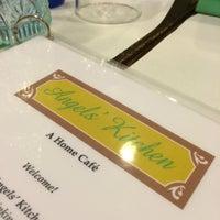 Photo taken at Angel's Kitchen by C.Y. L. on 1/2/2015