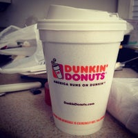 Photo taken at Dunkin' Donuts by Mo S. on 9/29/2014