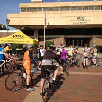 Photo taken at University Student Commons - VCU by Carl B. on 4/27/2013