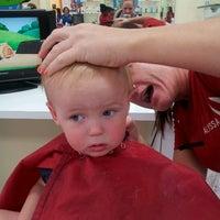 Photo taken at Kids' Hair by Kaja S. on 8/30/2013