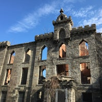 Photo taken at Smallpox Hospital by Heart B. on 3/20/2016