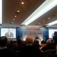 Photo taken at tepav | Türkiye Ekonomi Politikaları Araştırma Vakfı by Selin C. on 2/15/2016