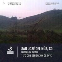 Photo taken at San José del Nús by Juan Esteban H. on 3/29/2014