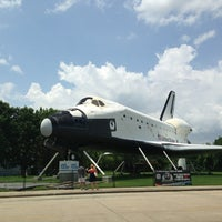 Photo taken at Space Center Houston by Angela D. on 7/27/2013