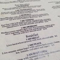 Photo taken at Café Gratitude by Sue H. on 5/9/2013