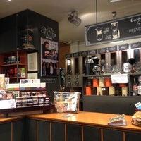 Photo taken at Cafés El Magnífico by Mikhail L. on 1/13/2014
