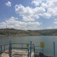 Photo taken at Bilkent Gölü by Gökhan C. on 7/27/2016