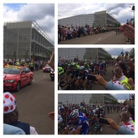 Photo taken at London 2012 Velodrome by James W. on 7/7/2014