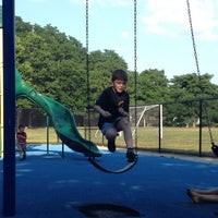 Photo taken at Domenick Filipello Playground by Kat P. on 7/16/2013