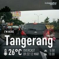Photo taken at Gerbang Tol Tangerang by Lannie 7. on 3/12/2014