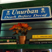 Photo taken at UnUrban Coffee House by Crystal R. on 3/20/2014