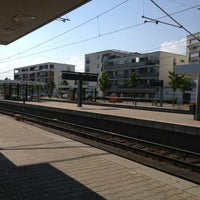 Photo taken at U Möhringen Bahnhof by Tim W. on 7/27/2013
