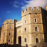 Photo taken at Windsor Castle by Sasha Z. on 2/4/2013