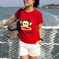 Photo taken at Teluk Dalam Beach Resort by Jess C. on 2/2/2014