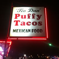 Photo taken at Tio Dan's Puffy Tacos by Josh G. on 2/16/2013