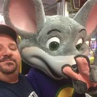 Photo taken at Chuck E. Cheese's by David M. on 1/26/2016