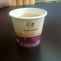 Photo taken at Isabella's Coffee by Isabella R. on 3/5/2013