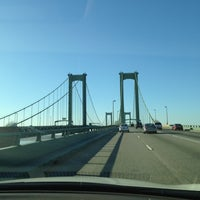 Photo taken at Delaware Memorial Bridge by Patrick K. on 11/22/2012