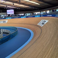 Photo taken at London 2012 Velodrome by Pavel S. on 4/13/2014