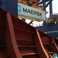 Photo taken at Maersk Balboa by raul p. on 3/15/2014