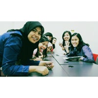 Photo taken at Telkom Applied Science School by yuli a. on 3/28/2015