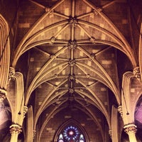 Photo taken at St. Patrick's Old Cathedral by Roberto T. on 5/19/2013