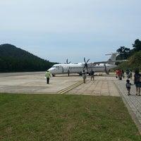 Photo taken at Redang Island Airport (RDN) by Masaki I. on 10/14/2013